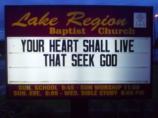 Psalm 69:32b
